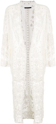 Polo Ralph Lauren Long Crochet Lace Jacket