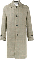Our Legacy houndstooth check coat - men - Linen/Flax/Viscose - 46