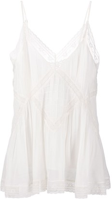 Twin-Set Lace-Embellished Top