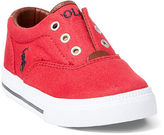 Ralph Lauren Vito Laceless Canvas Sneaker