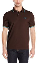 Fred Perry Men's Twin Tipped Polo Shirt-M1200
