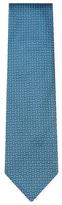 Brioni Geometric Embroidered Silk Tie