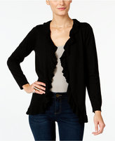 INC International Concepts Petite Ruffled Cardigan, Only at Macy's