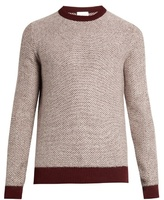 Raey Reverse herringbone wool sweater