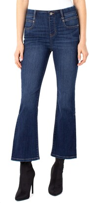 Liverpool Los Angeles Gia High Waist Ankle Flare Jeans