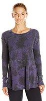 Calvin Klein Women's Tie Dye Thermal Tunic