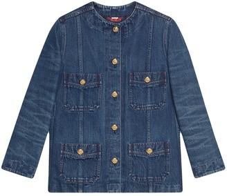 Gucci Oversized Denim Jacket