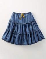 Boden Twirly Frill Skirt