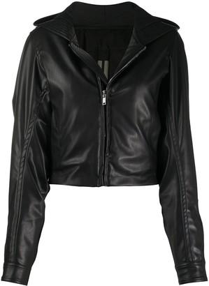 Rick Owens Cropped Hooded Jacket