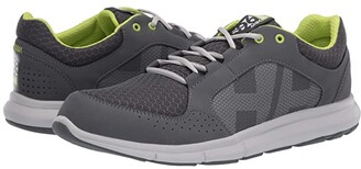 Helly Hansen Ahiga V4 Hydropower (Charcoal/Ebony/Light Grey/Azid Lime) Men's Shoes