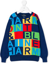 Harmont & Blaine Junior colour-block sweater