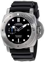 Panerai Luminor Submersible 1950 Automatic Men's Rubber Watch PAM01305