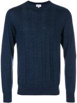 Brioni stripe detail sweater