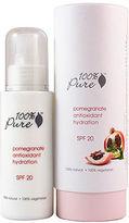 100% Pure Hydration SPF 20 Organic Pomegranate Antioxidant