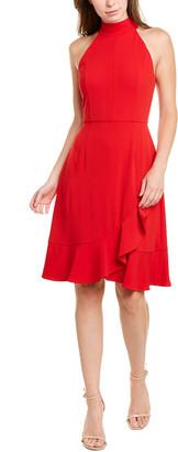 Donna Morgan Halter Sheath Dress