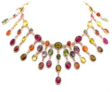 Tresor Collection - 18K Rose Gold Necklace With Multi Color Tourmaline 3421911556