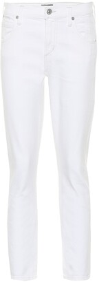 Citizens of Humanity Elsa cropped mid-rise straight jeans