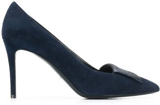 Pollini Glitter Inlay Pumps