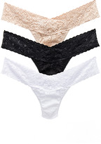 Hanky Panky Low Rise Thong 3 Pack