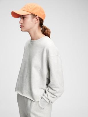 Gap Vintage Soft Rolled Hem Crewneck Sweatshirt