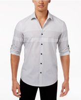 Alfani Big & Tall Men's Colorblocked Shirt, Created for Macy's
