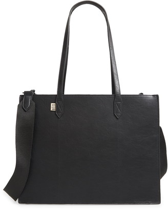 Béis Mini Work Faux Leather Tote