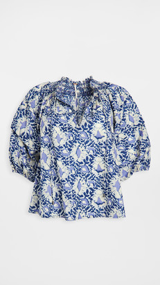 Free People Willow Printed Top