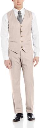 Perry Ellis Men's Texture PVL Vest