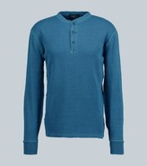 Thumbnail for your product : Ralph Lauren RRL Waffle knit Henley T-shirt