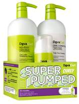 DevaCurl Super Pumped Curly Hair Care Kit
