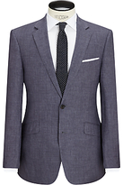 John Lewis Linen Regular Fit Suit Jacket, Slate