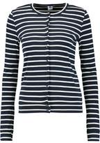 Petit Bateau Striped Cotton-Jersey Cardigan