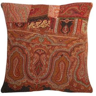 By Walid 18th-century Paisley-panel Cushion - Red Multi