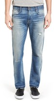 Current/Elliott Men's The Crossover Release Hem Straight Leg Jeans