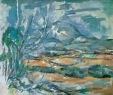Cezanne 1art1 Posters: Paul Poster Art Print - La Mont Sainte-victoire (32 x 24 inches)
