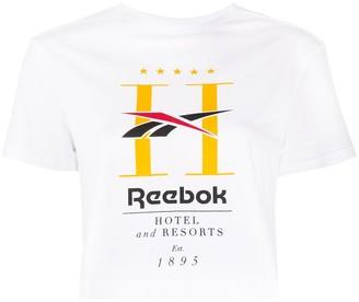 Reebok Classic Hotel cropped T-shirt