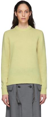 Acne Studios Yellow Wool Sweater