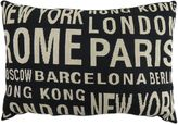 B. Smith The Vintage House by Park City Travels Tapestry Throw Pillow