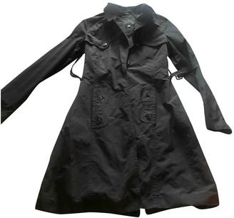 John Richmond Black Trench Coat for Women