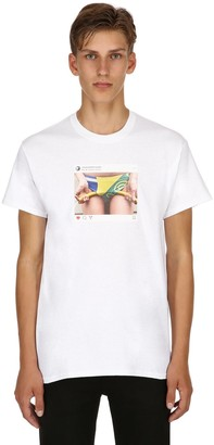 Emanueleferraristudio BRAZIL WORLD CUP INSTAGRAM T-SHIRT