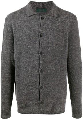 Zanone Button-Up Knitted Shirt