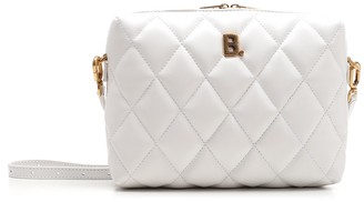 Balenciaga B Zipped Quilted Crossbody Bag