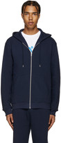 A.P.C. Navy Sweat Locker Hoodie