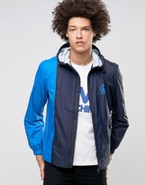Love Moschino Hooded Lightweight Windbreaker Jacket