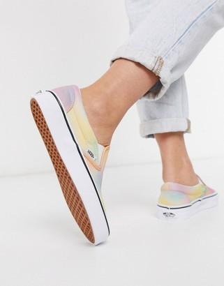 Vans Classic Slip-On Tie Dye sneaker in multi