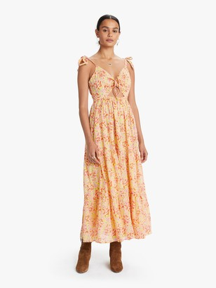 Banjanan Zoe Dress - Clover Field Yellow