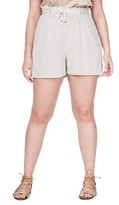 Plus Size Women's Elvi Jersey Shorts