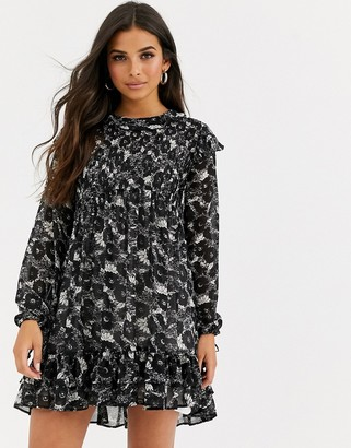 Free People These Dreams floral print dress-Black