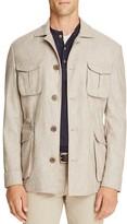 Eidos Textured Wool Slim Fit Field Coat