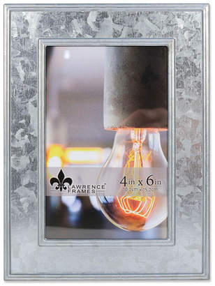 """Lawrence Frames Clarra Galvanized Metal Picture Frame - 4"""" x 6"""""""